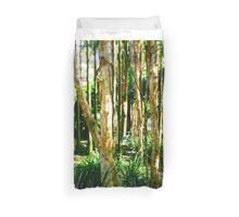 Brolga in the bush Duvet Cover