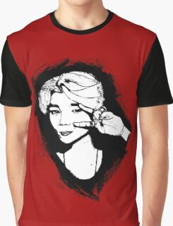 BTS Jimin sketch - RED version Graphic T-Shirt