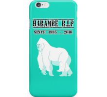 HARAMBE GORILLA iPhone Case/Skin