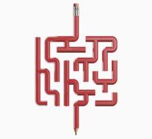 The Maze Writer Kids Tee
