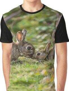 Cute Wildlife Tenderness Graphic T-Shirt