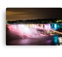 Niagara Falls at Night Canvas Print