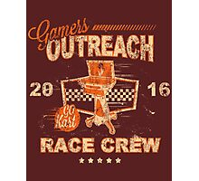 Limited Edition GO Kart Race Crew Photographic Print