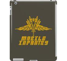 Starship Troopers Mobile Infantry crest grunge iPad Case/Skin