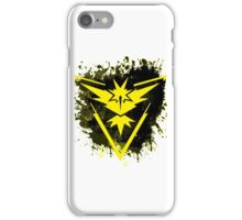 Yellow Team iPhone Case/Skin