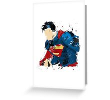 The last son of Krypton Greeting Card