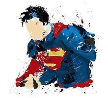 The last son of Krypton Photographic Print