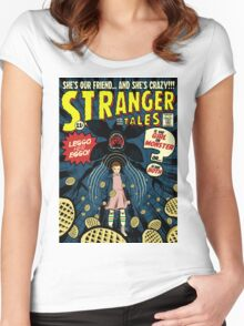 Stranger Tales Women's Fitted Scoop T-Shirt