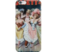 Performing Arts Posters Rice and Bartons Big Gaiety Spectacular Extravaganza Co 0312 iPhone Case/Skin