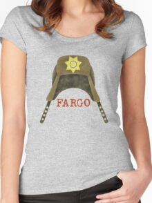 Fargo Sheriff Marge Gunderson Women's Fitted Scoop T-Shirt