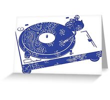 Bandana Records Greeting Card