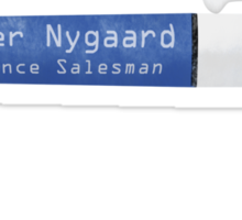 Fargo Pen of Lester Nygaard Sticker