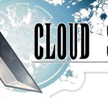 Cloud Strife Sticker