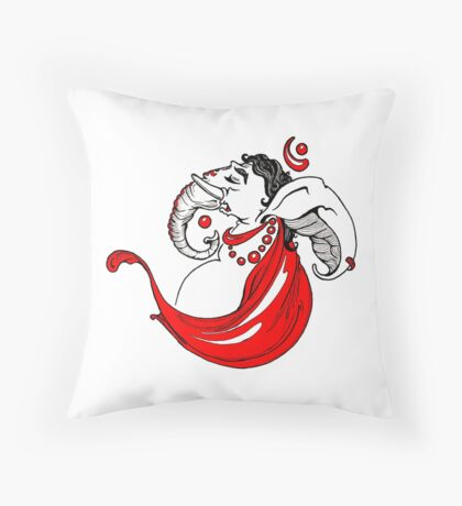 Om Ganpati Throw Pillow