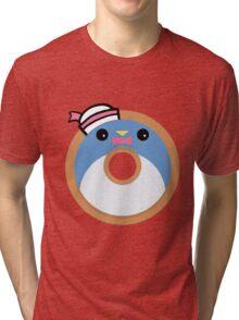 Tuxedo Sam Donut Tri-blend T-Shirt
