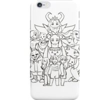 Undertale Sketch iPhone Case/Skin