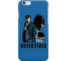 World's Finest Detectives iPhone Case/Skin