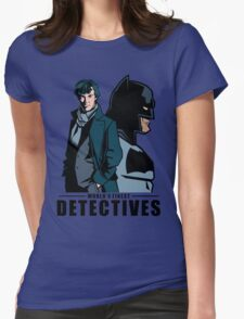 World's Finest Detectives Womens Fitted T-Shirt