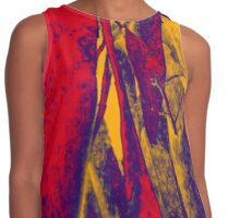 Abstract Stripes Contrast Tank