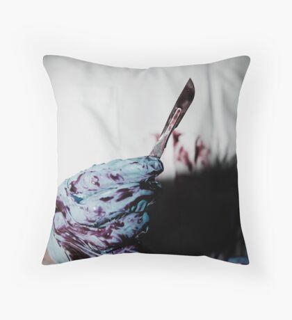 Killer surgeon Throw Pillow