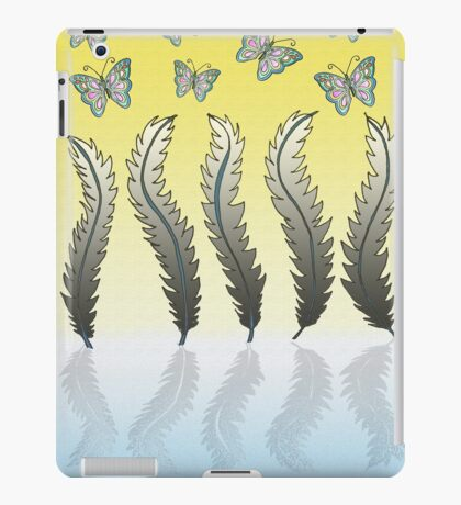 Dancing with Feathers iPad Case/Skin