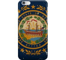 New Hampshire State Flag VINTAGE iPhone Case/Skin