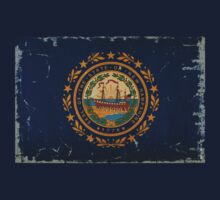 New Hampshire State Flag VINTAGE by USAswagg2