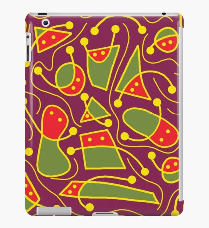 Playful abstraction iPad Case/Skin