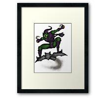 The Green Goblin Framed Print