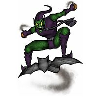 The Green Goblin Photographic Print