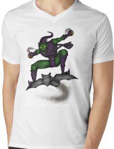 The Green Goblin Mens V-Neck T-Shirt