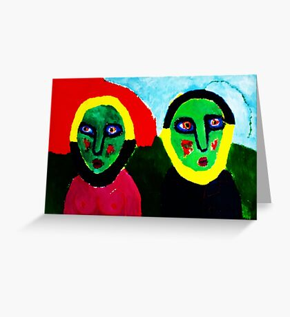 Magnetic Couple Greeting Card