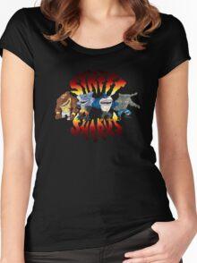 Street sharks Women's Fitted Scoop T-Shirt