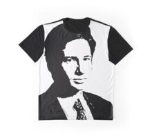 Spooky Mulder Graphic T-Shirt