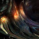 Alien Head VII AIII by Hugh Fathers