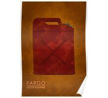 Fargo Gas Can Poster