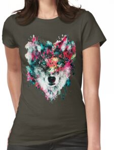 Wolf II Womens Fitted T-Shirt