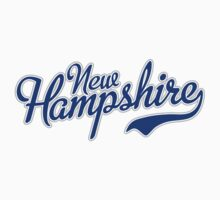 New Hampshire Script Blue Kids Clothes