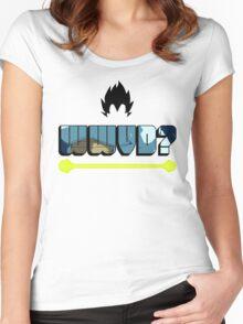 wwvd? Women's Fitted Scoop T-Shirt