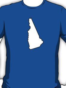 New Hampshire State Outline T-Shirt