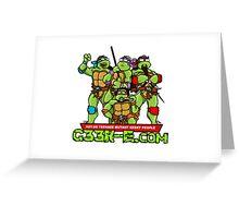 G33k-e.com - TMNT Parody Greeting Card