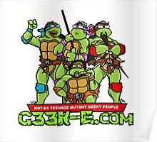 G33k-e.com - TMNT Parody Poster