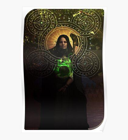 Solas Hermit Tarot Card Cosplay  Poster