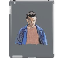 Eleven Stranger Things 011 Illustration  iPad Case/Skin
