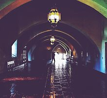 Courthouse Dark Hall  by ProjectSpearman