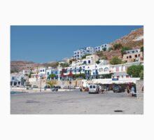 Livadia harbour, Tilos One Piece - Short Sleeve