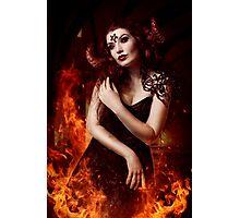 Demon Girl Photographic Print