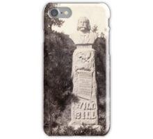 Wild Bill's Monument - John Grabill - 1891 iPhone Case/Skin