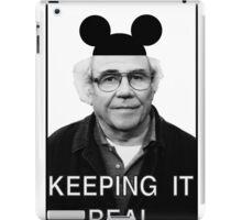 Baudrillard - Keeping it real iPad Case/Skin