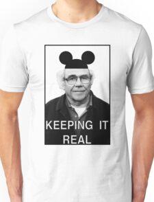 Baudrillard - Keeping it real Unisex T-Shirt